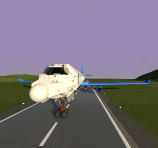 Мод Hyper Realistic Destructable Embraer 190 (Plane) для Бриг Ригс