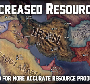 Мод Increased Resources (inactive) для Hearts of Iron IV
