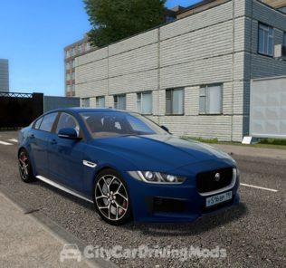 Мод Jaguar XE 2015 для Сити Кар Драйвинг v.1.5.8