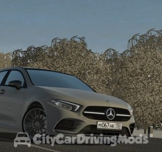 Мод Mercedes-Benz A-Class 2018 для Сити Кар Драйвинг v.1.5.8