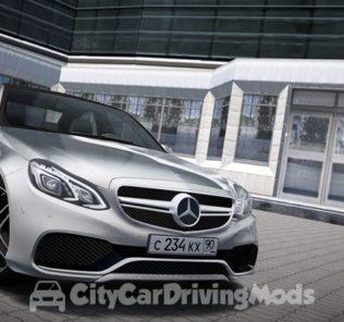 Мод Mercedes-Benz E63s AMG W212 для Сити Кар Драйвинг v.1.5.7