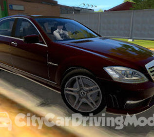 Мод Mercedes Benz S65 AMG Original Custom Sound для Сити Кар Драйвинг v.1.5.6