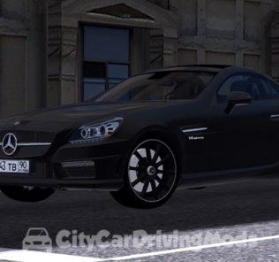 Мод Mercedes-Benz SLK55 для Сити Кар Драйвинг v.1.5.5