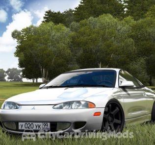 Мод Mitsubishi Eclipse для Сити Кар Драйвинг v.1.5.5