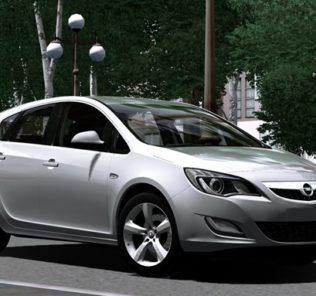 Мод Opel Astra 2010 для Сити Кар Драйвинг v.1.5.9