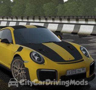 Мод Porsche 911 GT2 RS 2018 для Сити Кар Драйвинг v.1.5.7