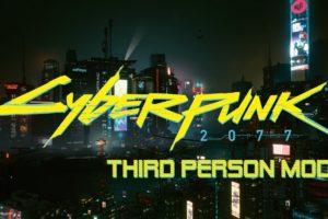 Мод на камеру от третьего лица для Cyberpunk 2077