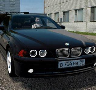 Мод BMW 520I E39 для Сити Кар Драйвинг v.1.5.9