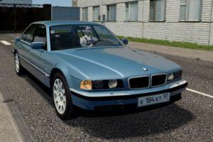 Мод BMW 725TDS E38 для Сити Кар Драйвинг v.1.5.9