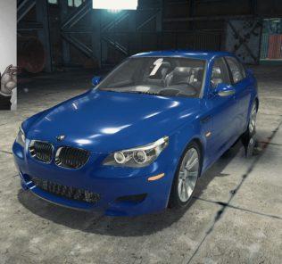 Мод BMW M5 E60 для Кар Механик Симулятор 2018