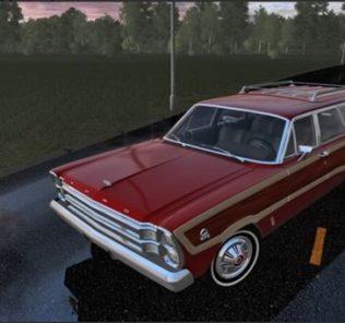 Мод Ford Country Squire для Сити Кар Драйвинг v.1.5.9