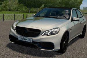 Мод Mercedes-Benz E63S AMG (W212) для Сити Кар Драйвинг v.1.5.9