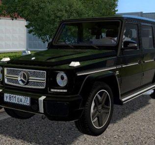 Мод Mercedes-Benz G65 AMG V1.2 для Сити Кар Драйвинг v.1.5.9