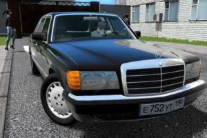 Мод Mercedes-Benz W126 560SE для Сити Кар Драйвинг v.1.5.9