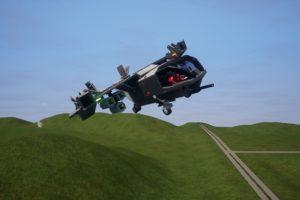 Мод V-44 Warhawk для Бриг Ригс