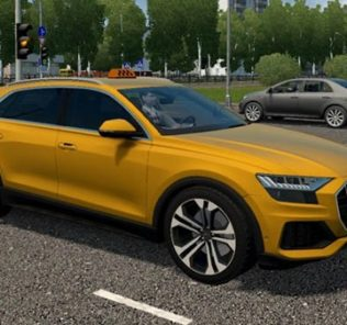 Мод Audi Q8 2019 для Сити Кар Драйвинг v.1.5.9