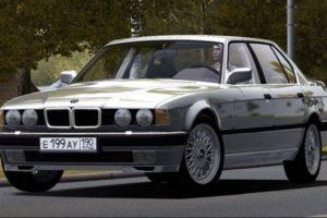 Мод BMW 735i E32 1994 для Сити Кар Драйвинг v.1.5.9