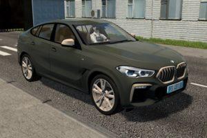 Мод BMW X6 M50i (G06) 2020 для Сити Кар Драйвинг v.1.5.9