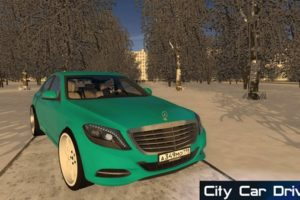 Мод Mercedes-Benz S500 (W222) Imoral для Сити Кар Драйвинг v.1.5.9