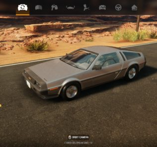 DeLorean DMC-12 мод для Car Mechanic Simulator 2021