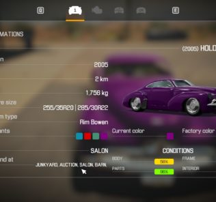 Holden EFIJY Concept мод для Car Mechanic Simulator 2021