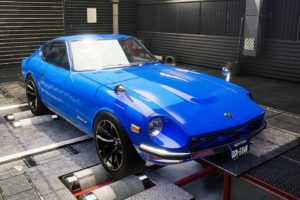 Nissan 240Z Restomod мод для Car Mechanic Simulator 2021